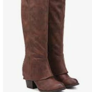 Fergalicious lundry tall boots 9.5
